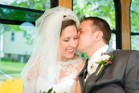 Lamers Trolley Wedding Transportation
