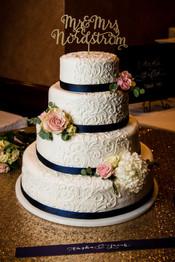 Simple Simon Wedding Cake