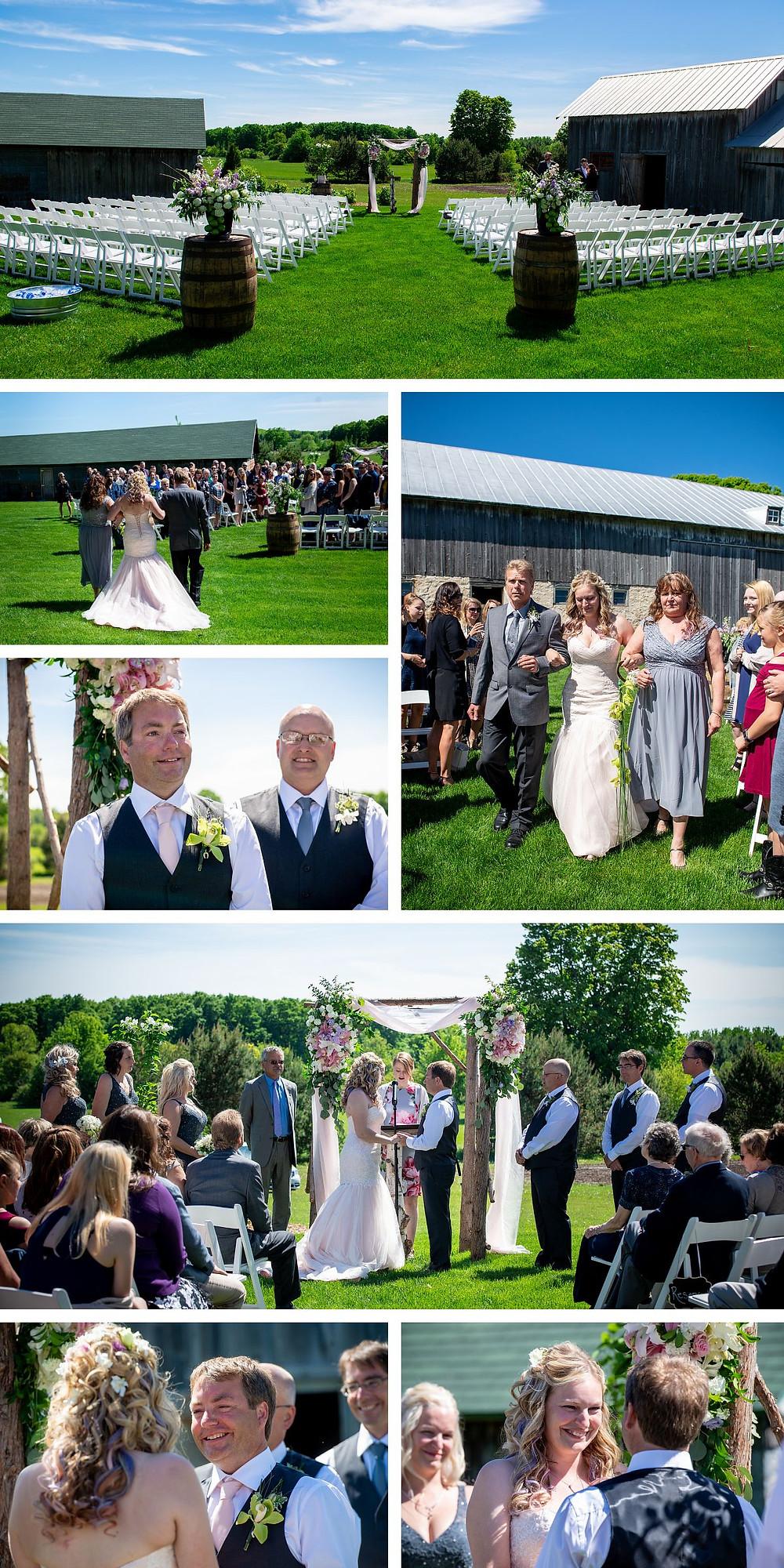 About Thyme Farm Door County Baileys Harbor Wedding Photographer Lanari Photography