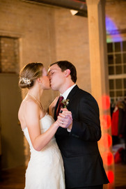 Winter Wedding Reception Carsten's Mill Brillion WI