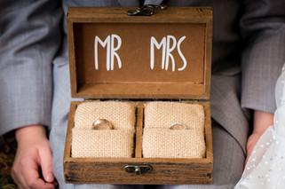 Milwaukee Wedding Ring Box | Lanari Photography