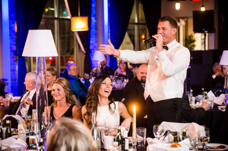 Meyer Theatre Wedding Dinner Lanari Photography