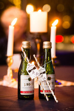 Champagne Wedding Favor Lanari Photography