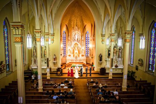 Milwaukee Wedding Ceremony | Lanari Photography