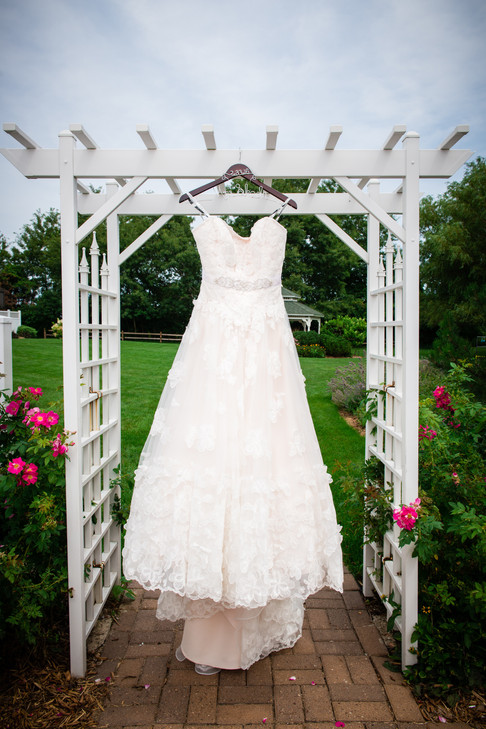 Wedding Dress at The Marq DePere WI