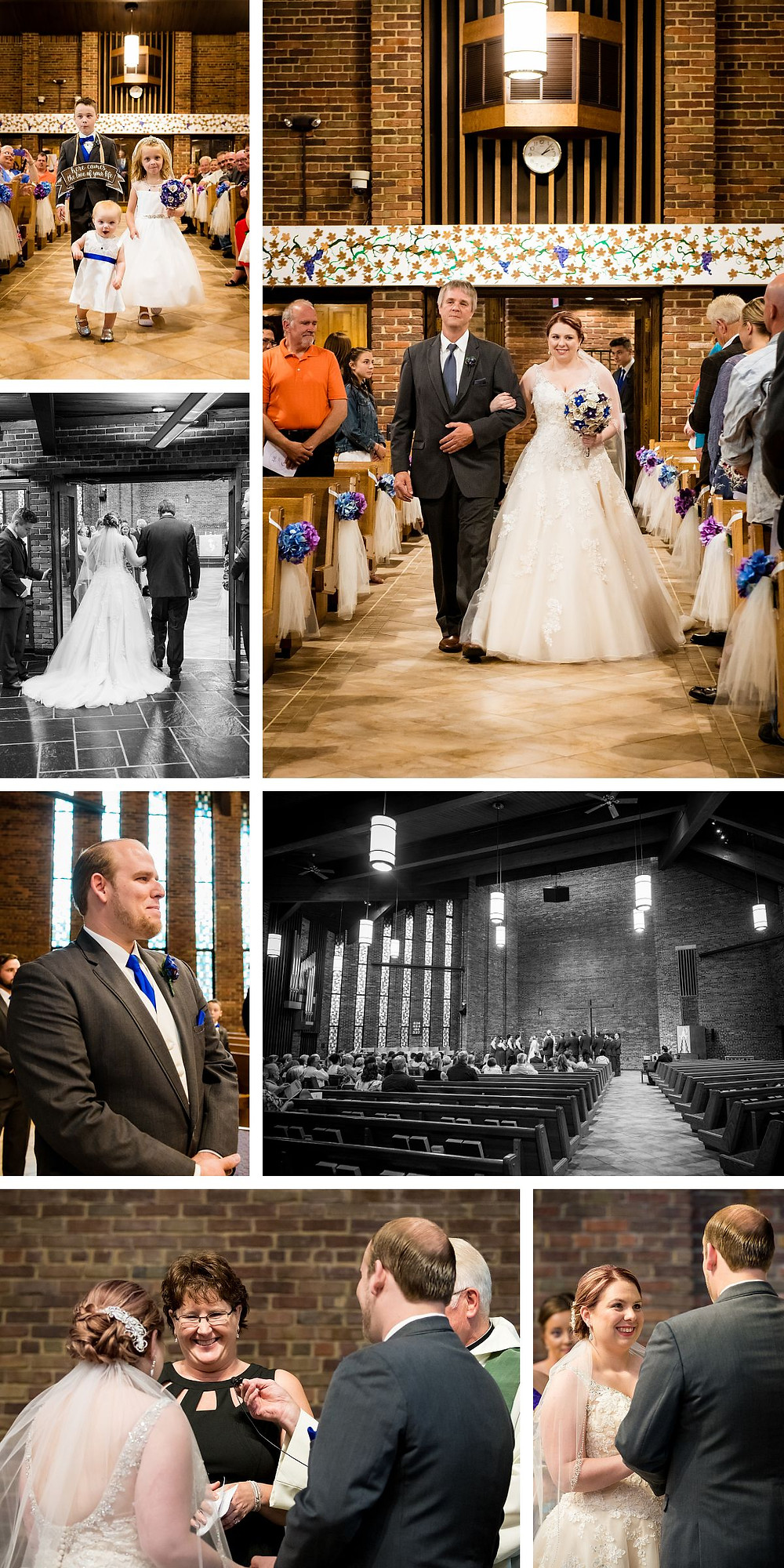 Lutheran wedding ceremony in Green Bay, Wisconsin Wedding Photographer