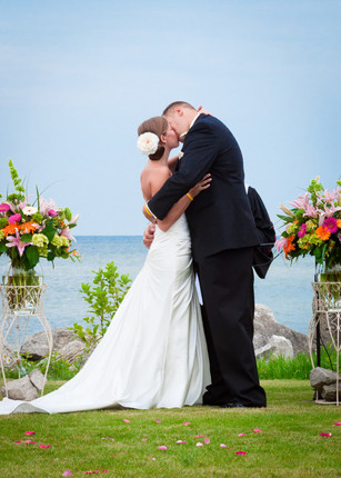Door County Wedding Ceremony | Lanari Photography