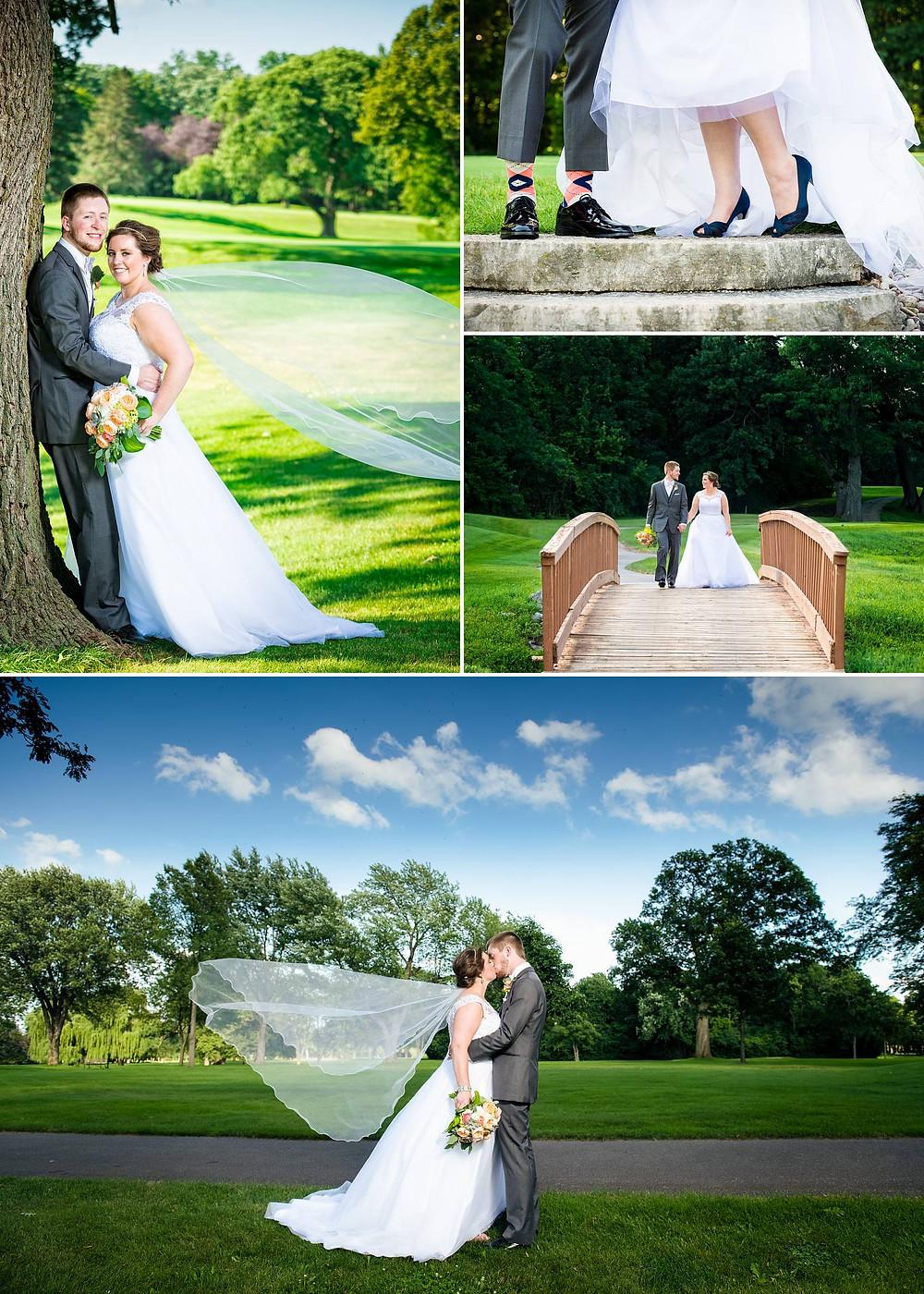Oshkosh Wisconsin Bride Groom Wedding Portraits | Lanari Photography