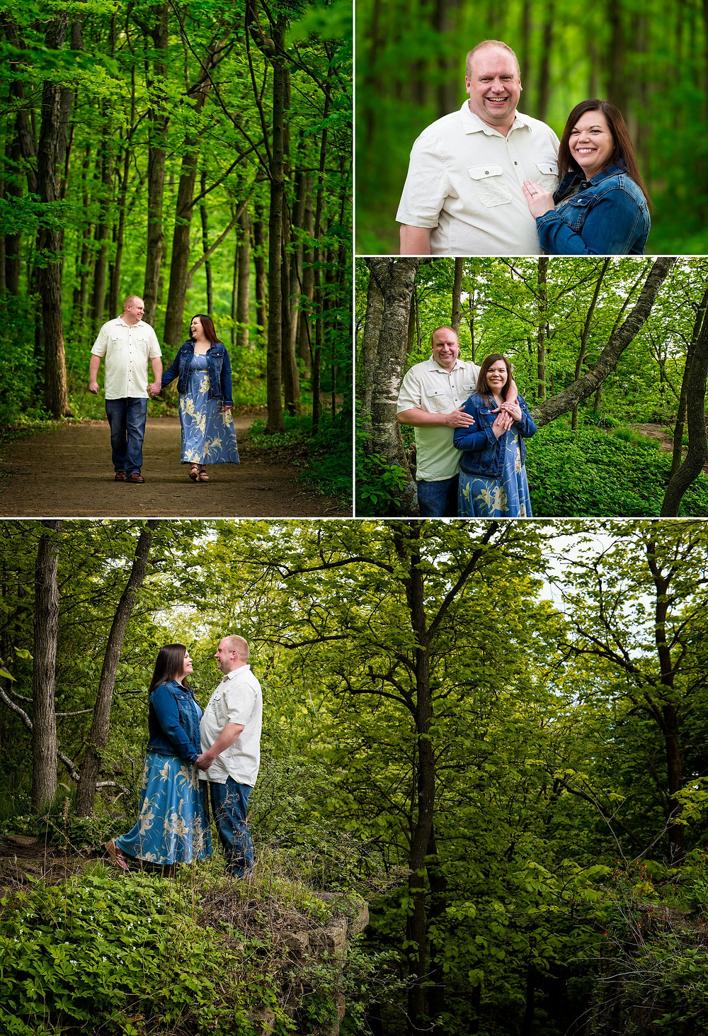 Spring High Cliff Engagement Session | Lanari Photography