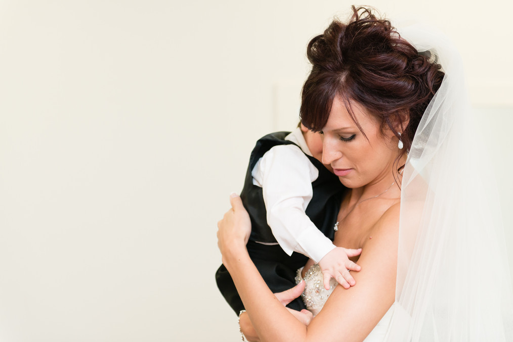 Bride with Son