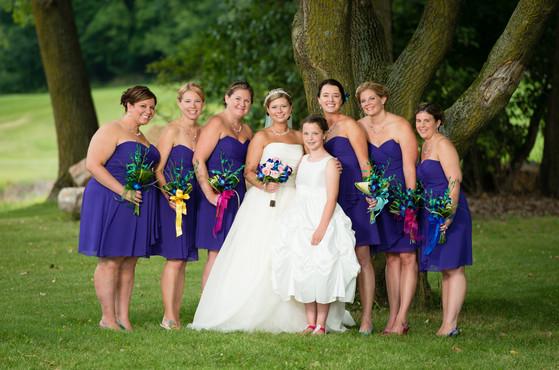 High Cliff State Park Wedding Portraits
