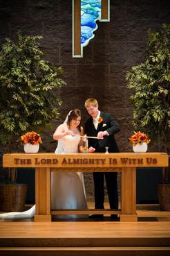 Wedding Unity Candle | Lanari Photography