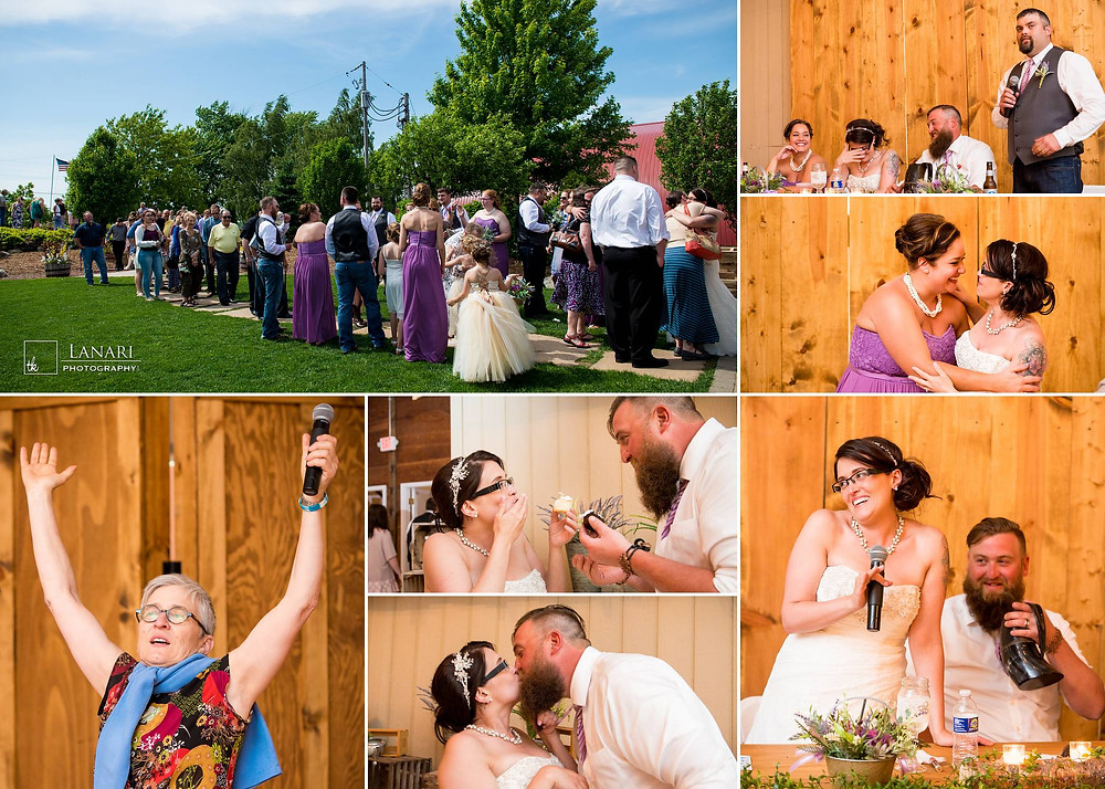 Brighton Acres Oshkosh Wedding Reception | Lanari Photography