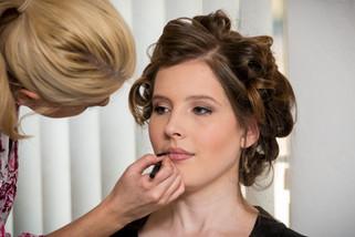Bridal Makeup Preparations