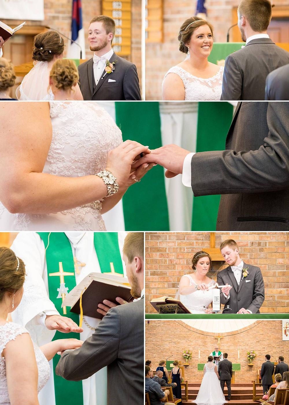 Oshkosh Wisconsin June Wedding Ceremony   Lanari Photography