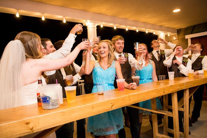 Homestead Meadows Wedding Toast