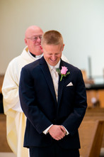 Groom Seeing Bride First Time