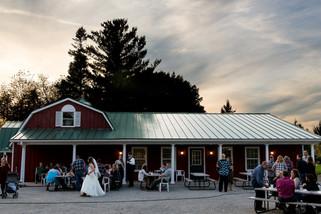 Homestead Meadows Wedding Cocktail Hour