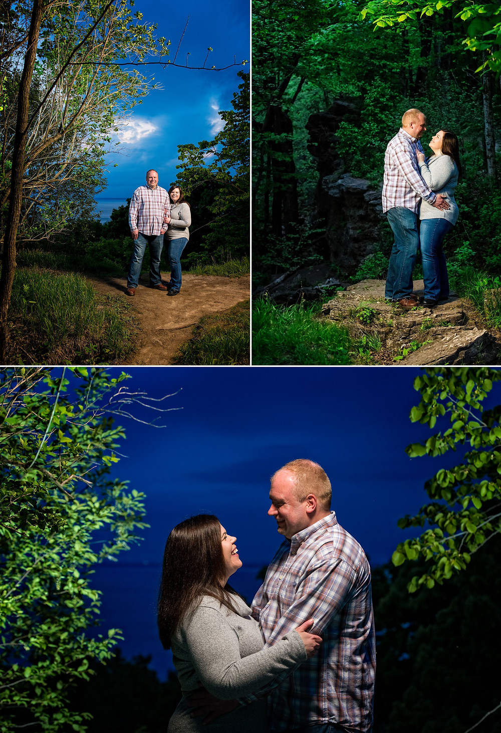 High Cliff Wisconsin Portrait Session | Lanari Photography