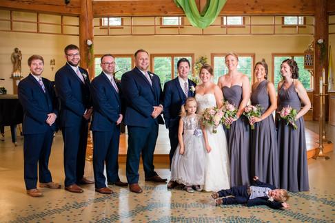 Marquette MI Wedding Party