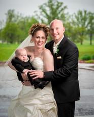 Family Wedding Portrait, St. Cloud MN
