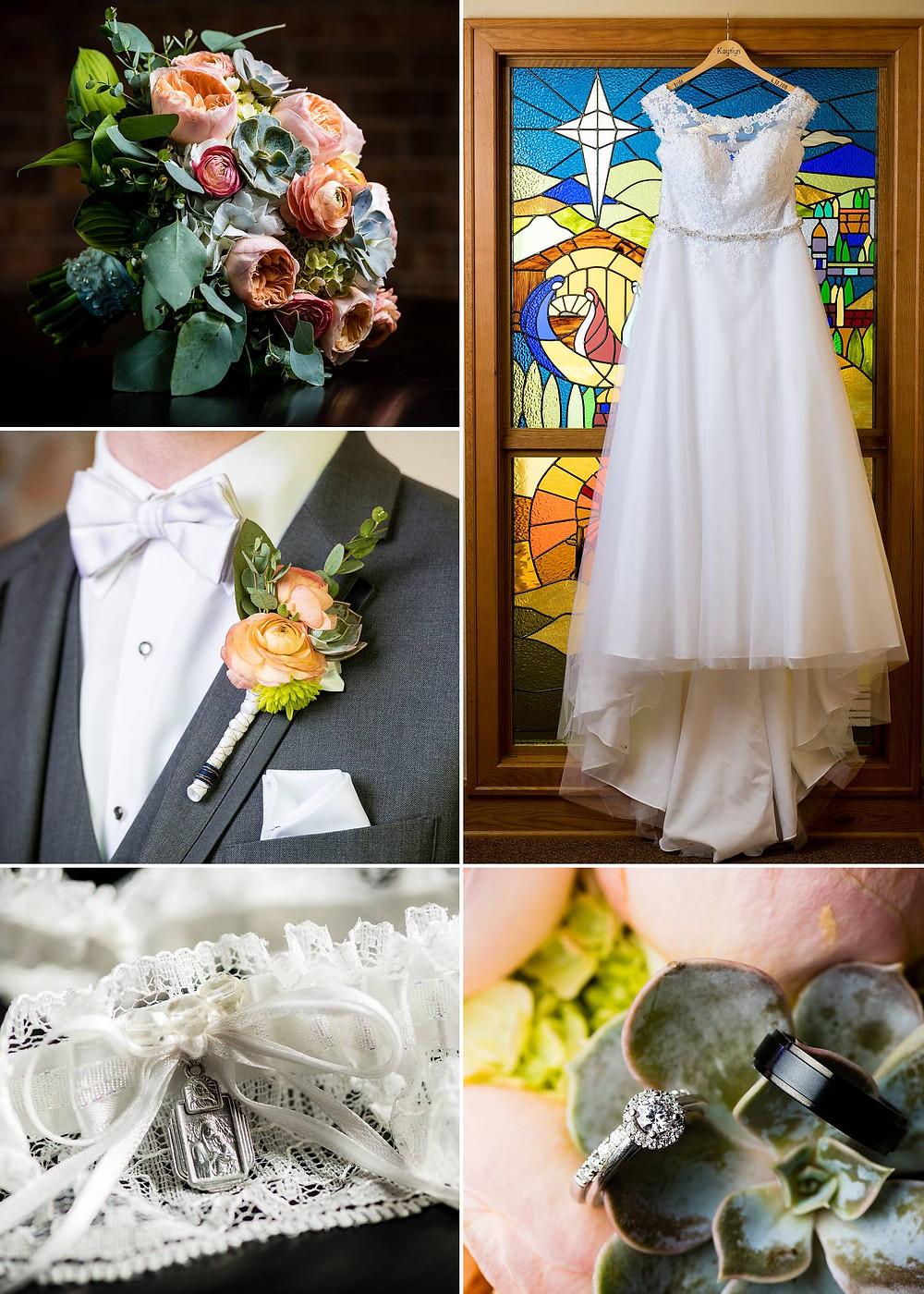 Oshkosh Wisconsin Summer Wedding Robins Nest Floral   Lanari Photography