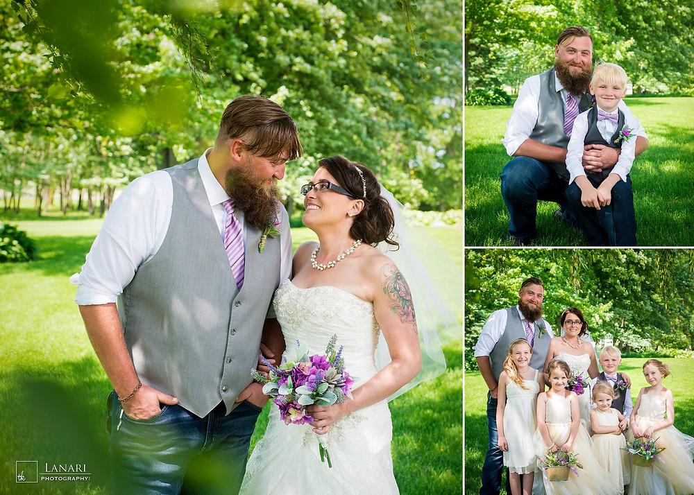 Brighton Acres Oshkosh Wisconsin Wedding   Lanari Photography