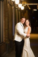 Night Wedding Portrait Green Bay Lanari Photography