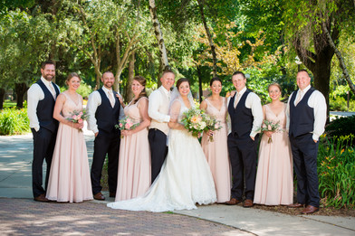 Bridal Party, St. Norbert College DePere WI