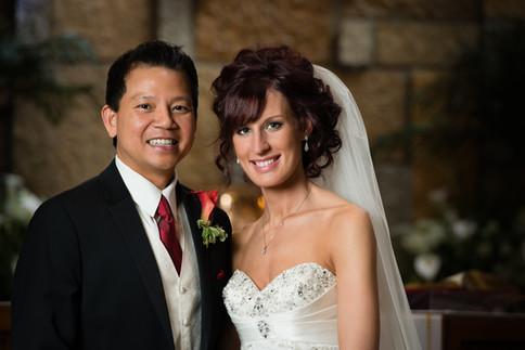 Wedding Portrait St Pius Appleton Wisconsin