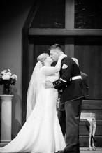 First Kiss Green Bay Wedding