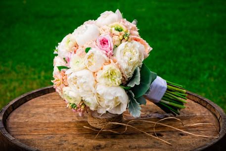 Wedding Bouquet by Ebb & Flow Appleton WI