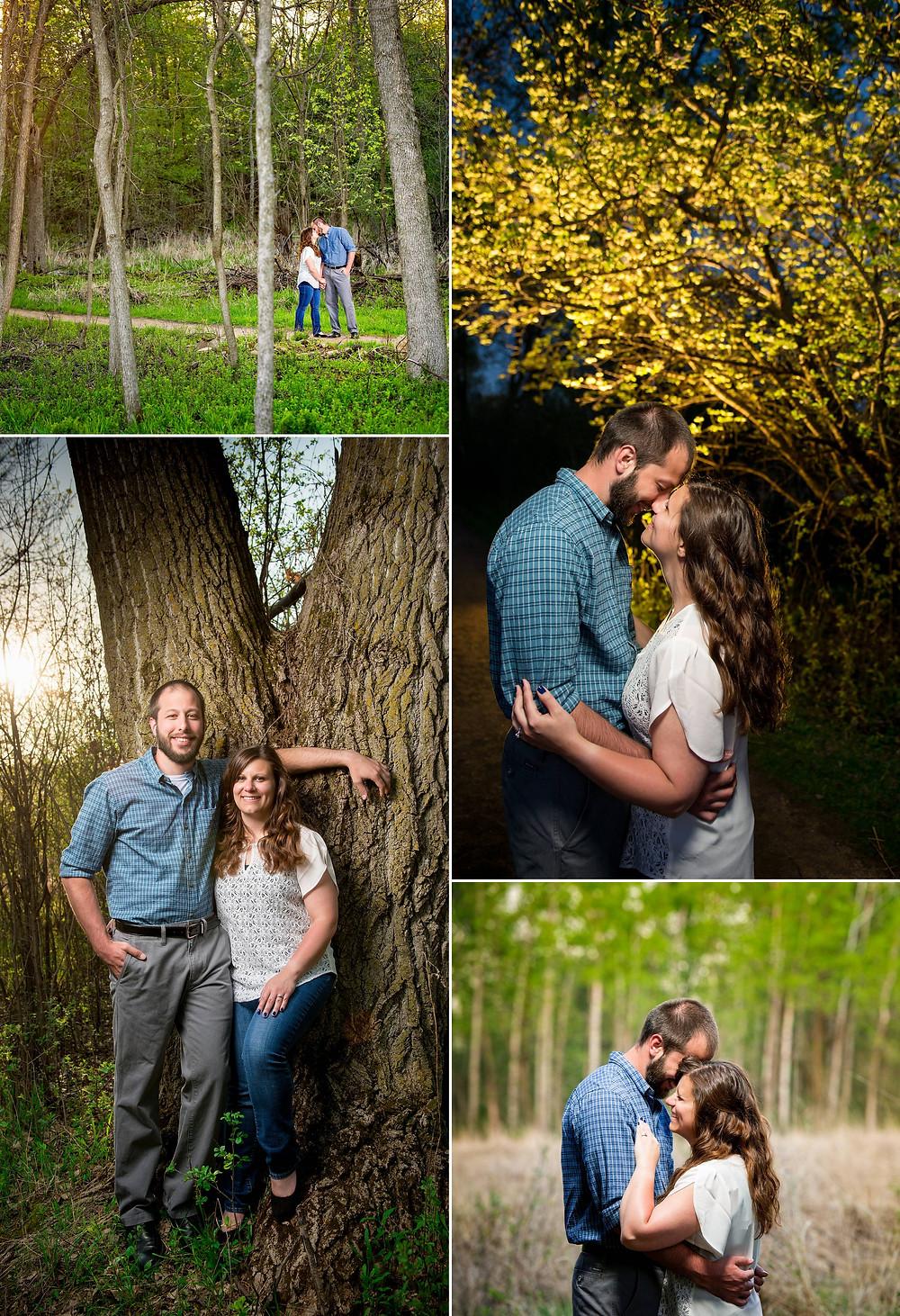 Spring Engagement Appleton Wisconsin | Lanari Photography