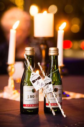 Champagne Bottle Wedding Favors