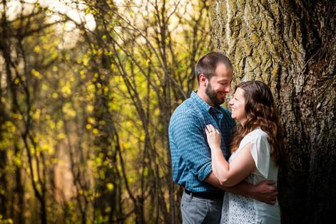 Spring Engagement Bubolz Lanari Photography