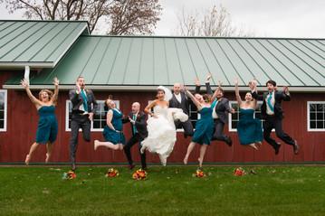 Homestead Meadows Appleton Wedding Party