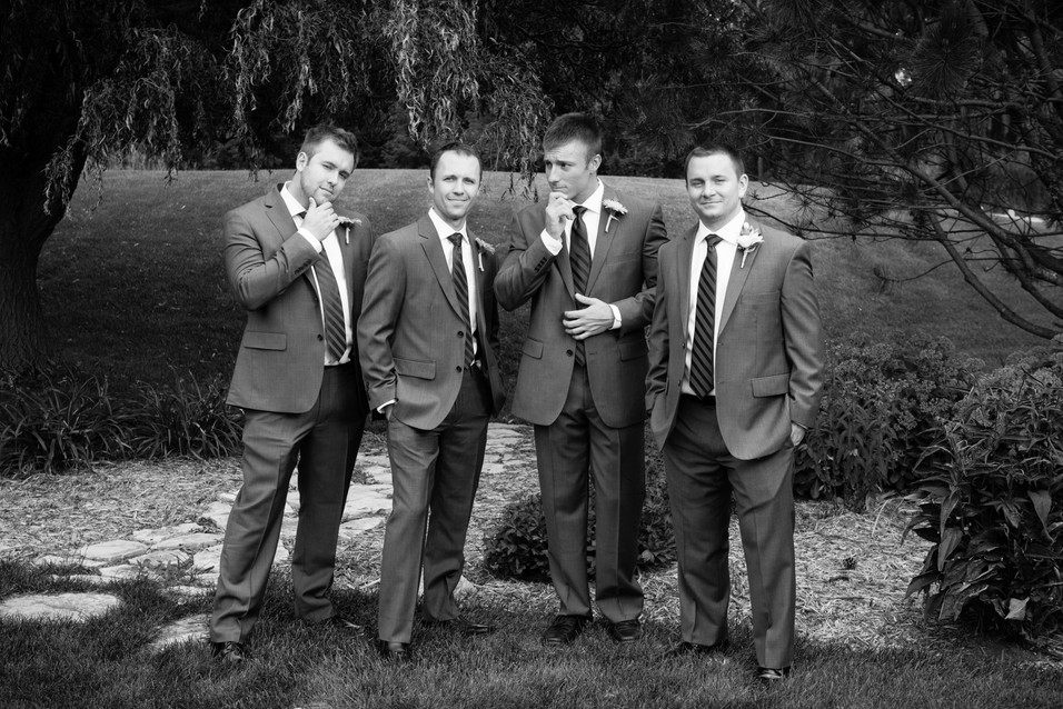 Groomsmen at The Marq DePere WI