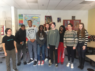 Ode to Fury Poetry Workshop at Chicago Public Schools