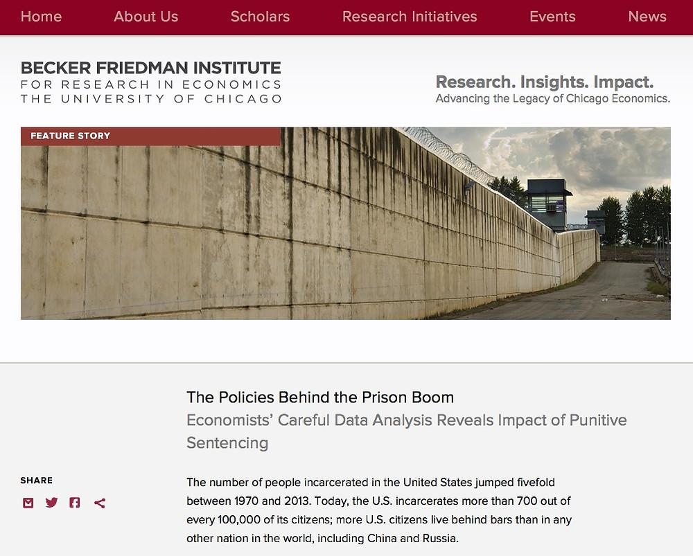 Economics Prison Boom