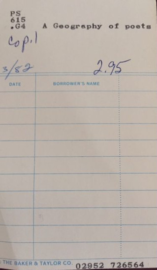 No Date, No Borrower's Name
