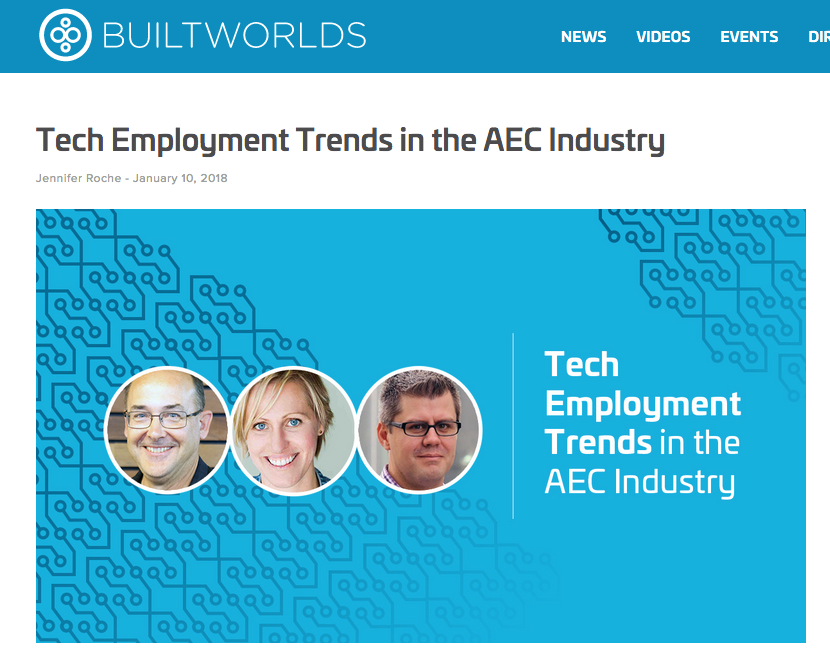 Tech Employment Trends in the AEC Industry