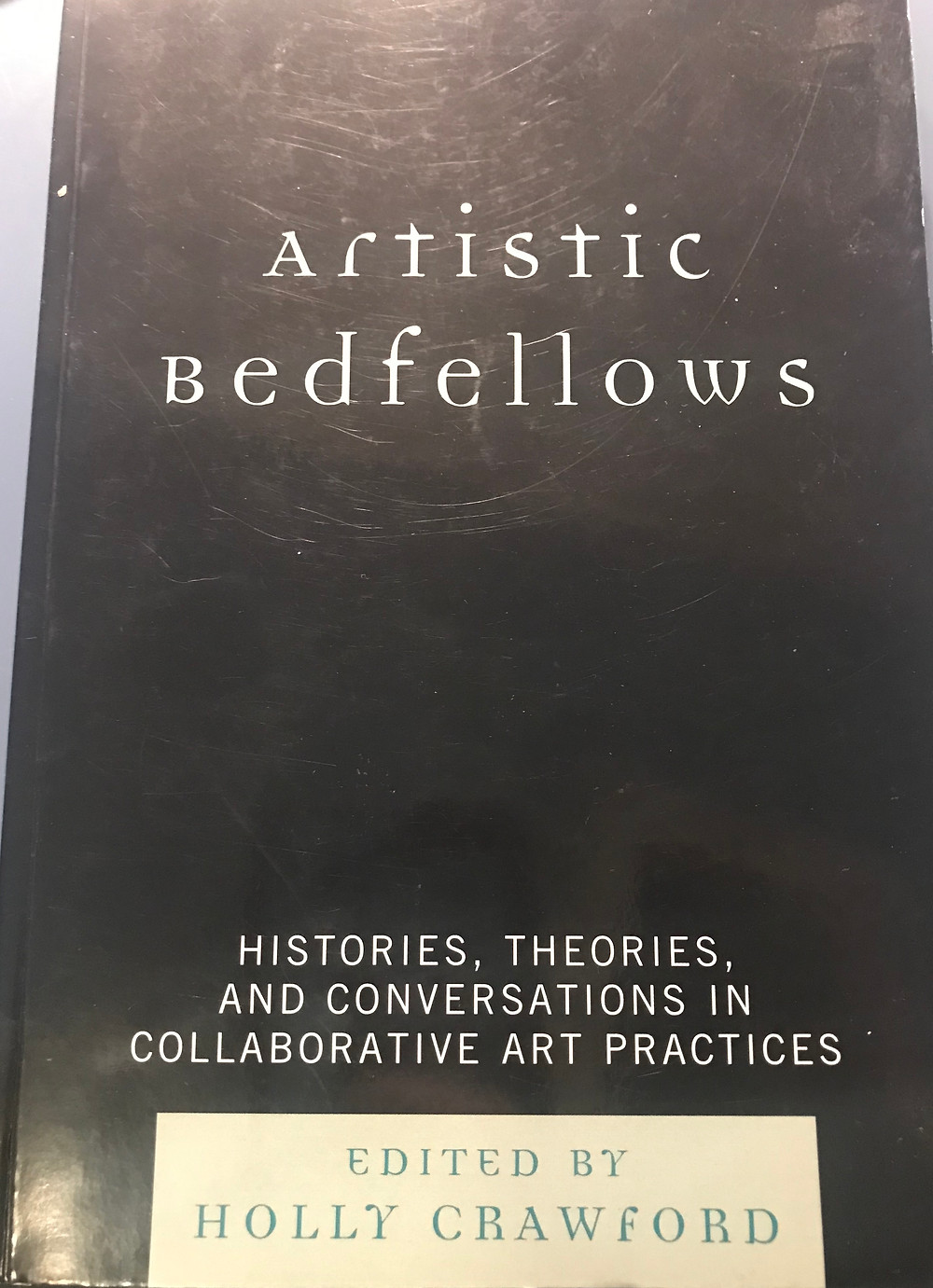 Book cover of Artistic Bedfellows