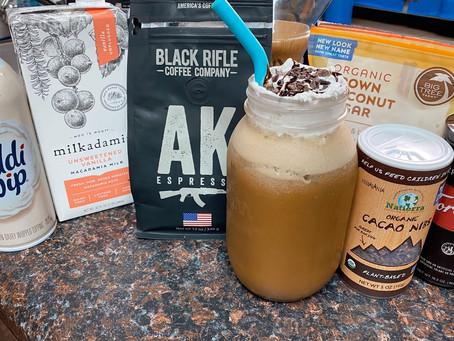 Black Rifle Dairy Free Frappe