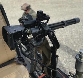 M134 Minigun Aerial Gunner