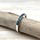 Thumbnail: SR15 Tiny Turquoise Silver Band