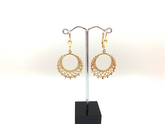 H121 Small Alhambra Earrings