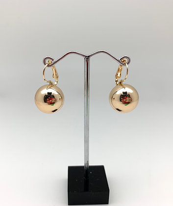 H119 Ball Earrings (Larger but not too big), Best Selling