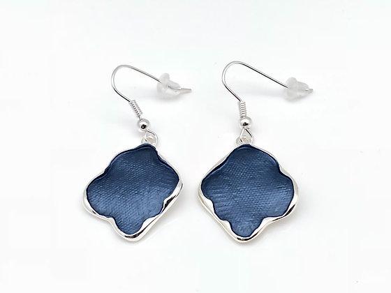 SE10 Blue Kimono Earrings
