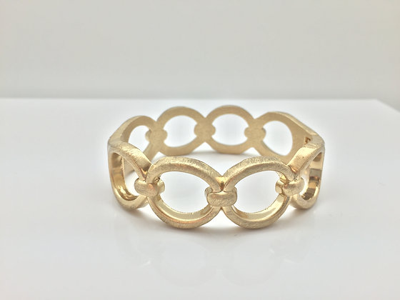 WG 3. 18K Gold Plated Links Cuff SALE