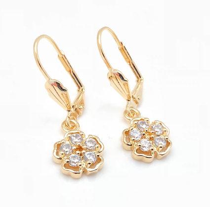 H89 Dangly Sakura Earrings
